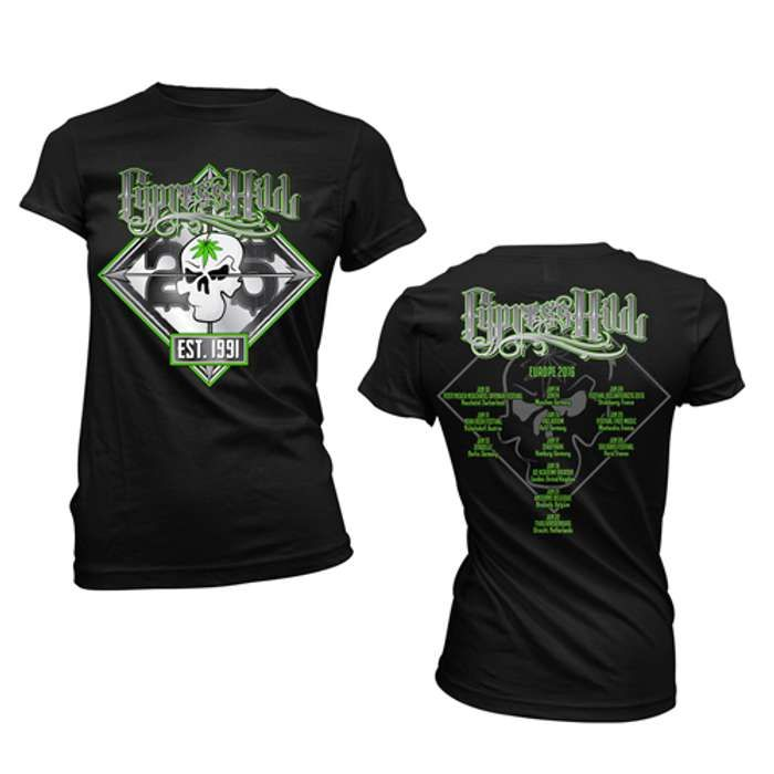 25th Anniversary Tour - Girls Tee - Cypress Hill