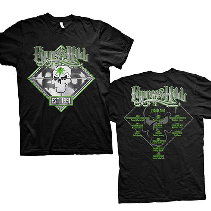 25th Anniversary Tour - Tee - Cypress Hill