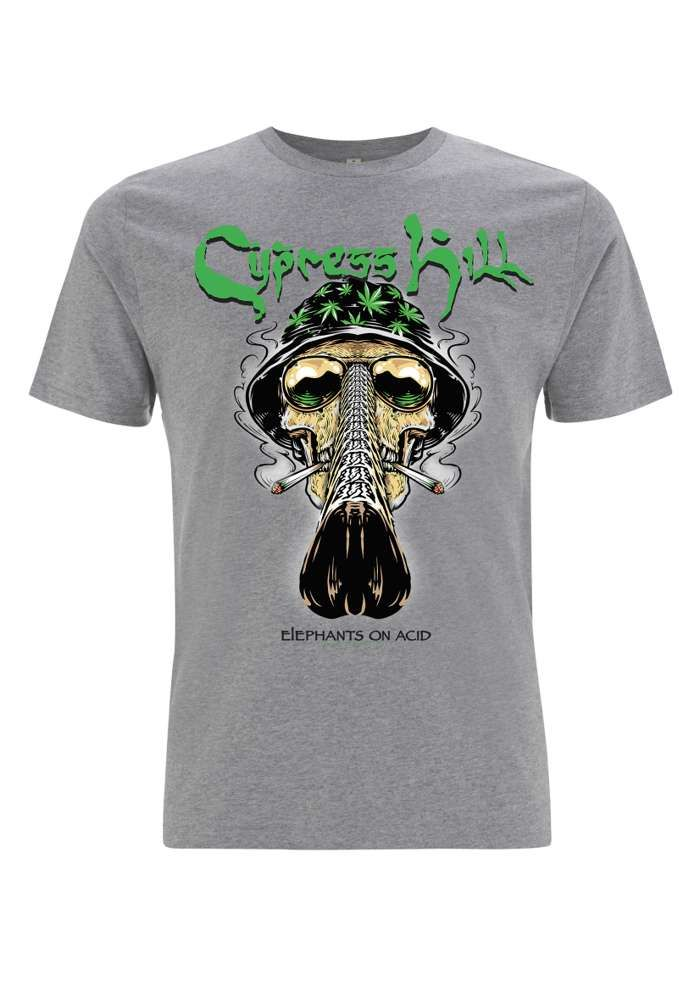 Fear & Loathing - Melange Grey Tee - Cypress Hill