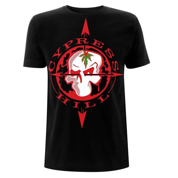 Skull Compass - Black Tee - Cypress Hill