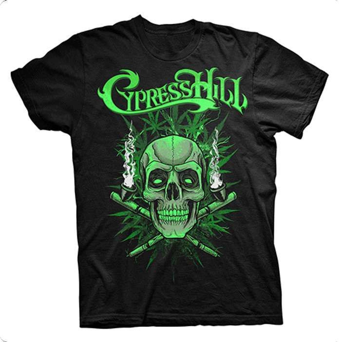 Skull N Pipes - Tee - Cypress Hill