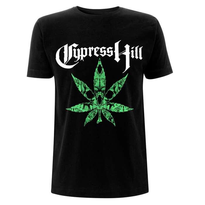 Skulls Leaf – Tee - Cypress Hill