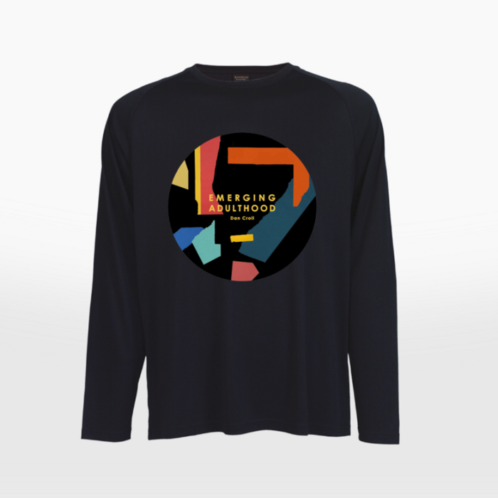 Emerging Adulthood Long-sleeved T-shirt [Black] - Dan Croll North America