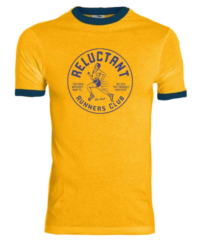 Reluctant Runners Club T-Shirt - Dan Croll North America