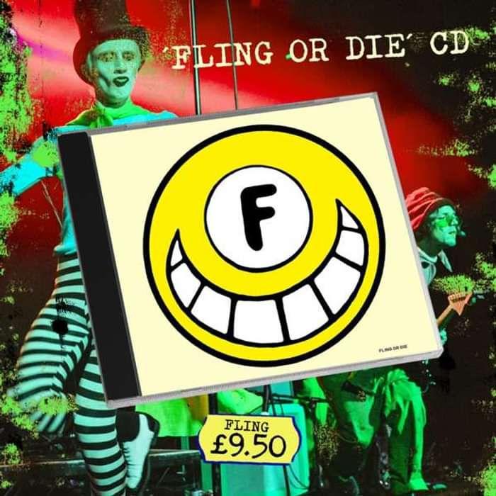FLING OR DIE CD - Dance To The Radio