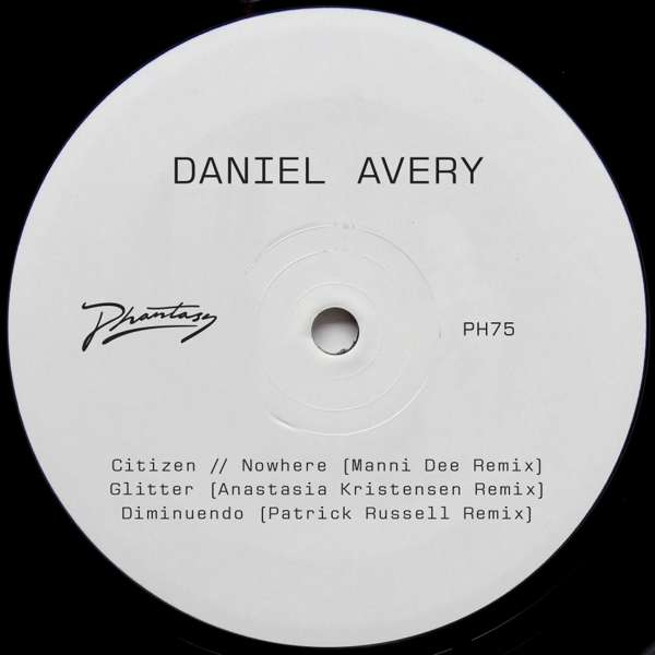 Daniel Avery - Song For Alpha Remixes One - Daniel Avery