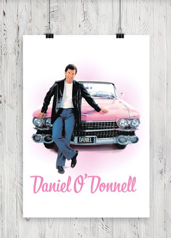 A3 Limited Edition High Quality Rock N Roll Print - Daniel O'Donnell US