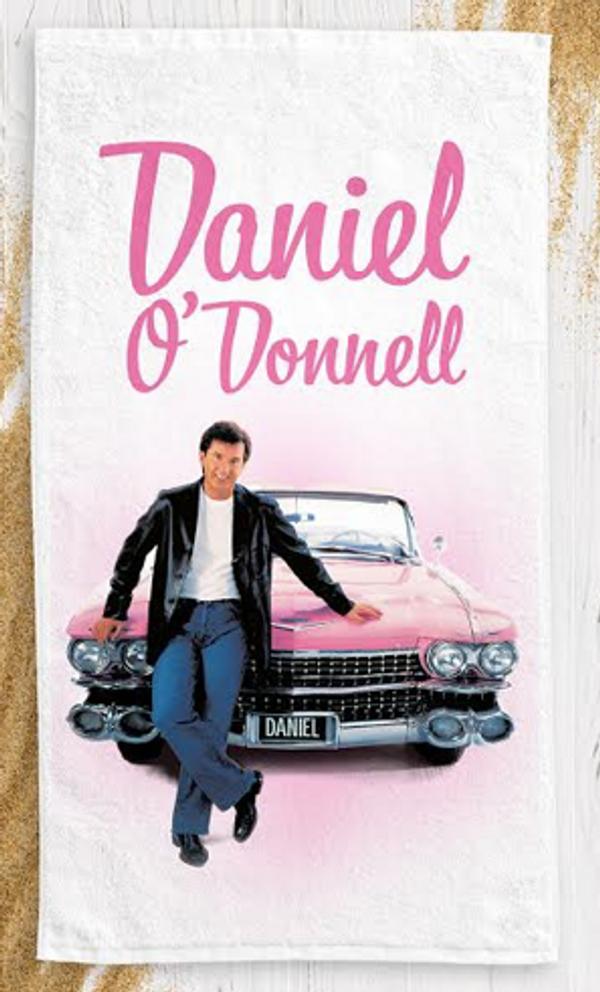 High Quality Rock N Roll Bath / Beach Towel - Daniel O'Donnell US