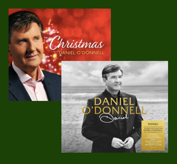 New Album Daniel CD & Christmas with Daniel O'Donnell 2CD + DVD *discounted price* - Daniel O'Donnell US