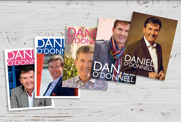 Set 1 of 5 Hand Selected Photos of Daniel, Printed as High Quality Postcards - Daniel O'Donnell US
