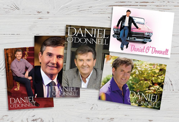 Set 2 of 5 Hand Selected Photos of Daniel, Printed as High Quality Postcards - Daniel O'Donnell US