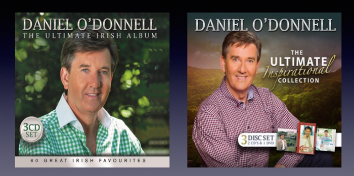 Specially Priced Double Pack: The Ultimate Collection & Irish Album - Daniel O'Donnell US