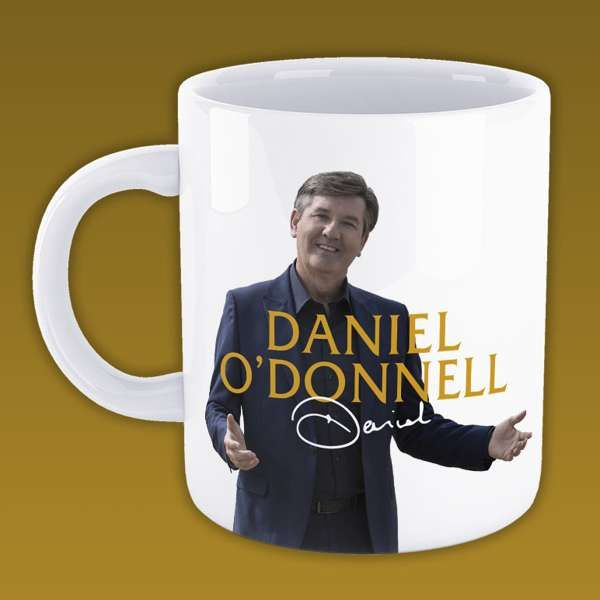 *New In* Daniel O'Donnell 'Signature' Coffee Mug - Daniel O'Donnell US