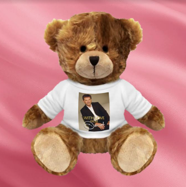 With Love From Daniel Teddy Bear #1 - Daniel O'Donnell US