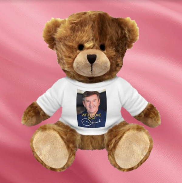 With Love From Daniel Teddy Bear #2 - Daniel O'Donnell US