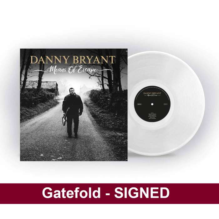 Means of Escape 180g White LP - Danny Bryant