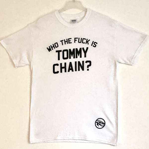 Who the F*** is Tommy Chain T-Shirt - Dark Horses