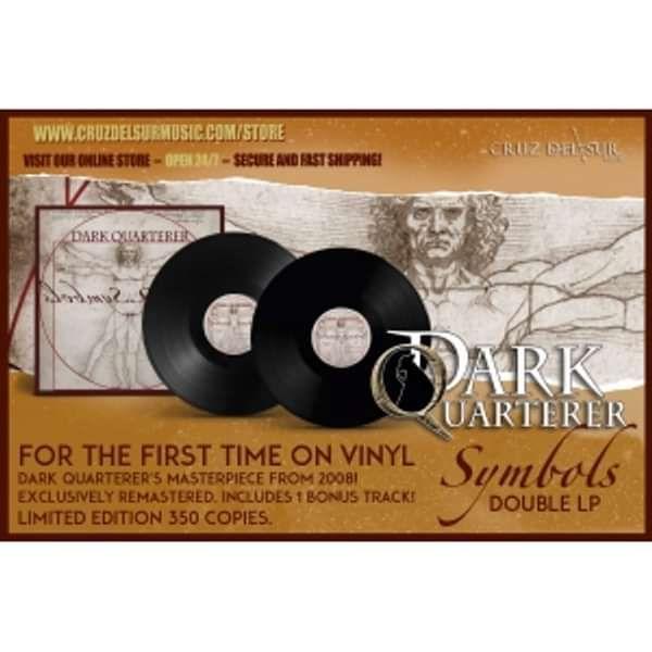 Symbols (Vinyl edition Double LP) - DARK QUARTERER