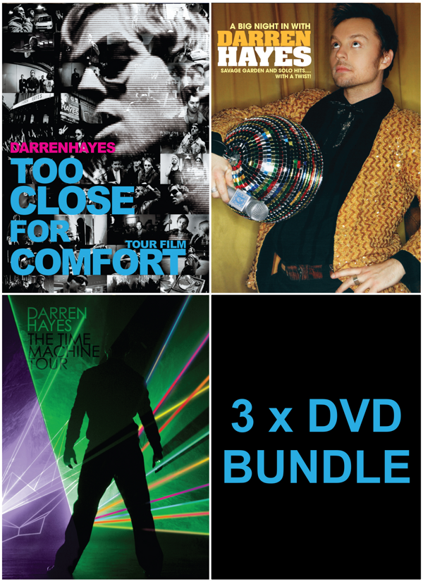 3 DVD Bundle (with Signed Card) - Darren Hayes US