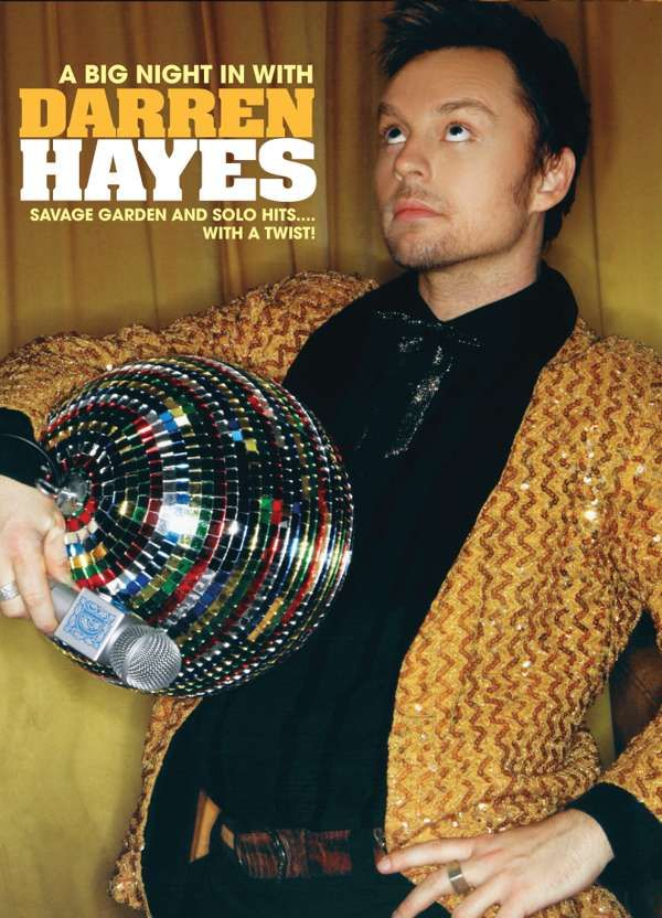 A Big Night in with Darren Hayes (DVD with Signed Card) - Darren Hayes US