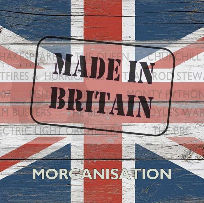 Made in Britain CD - Dave Scott-Morgan