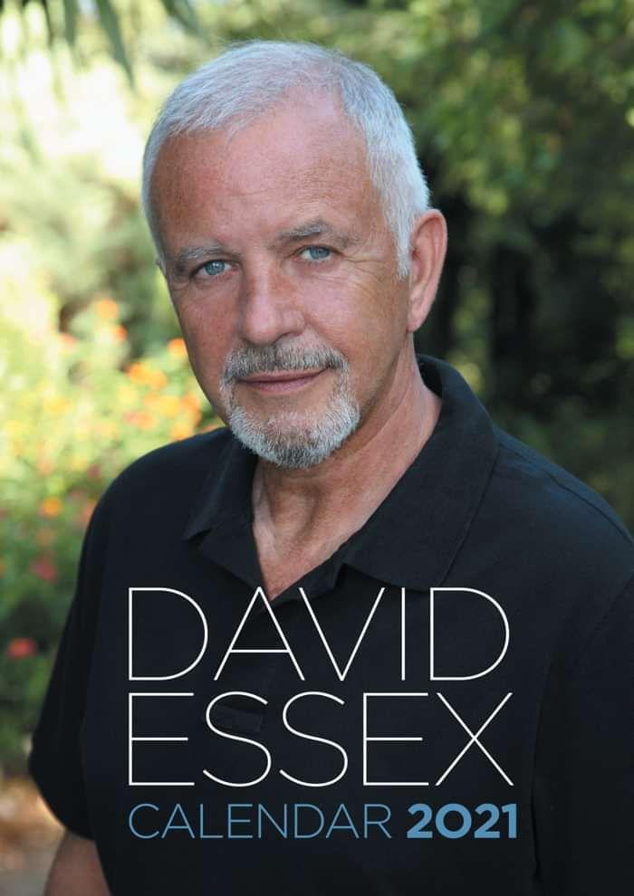 Official 2021 Calendar - David Essex