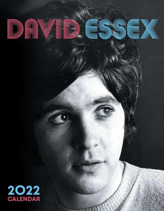 Official 2022 Calendar - David Essex