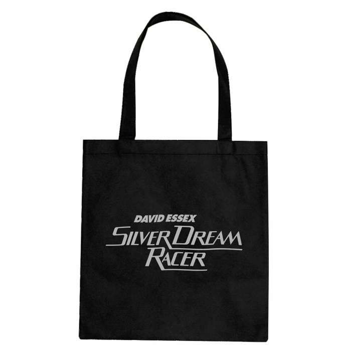 Silver Dream Racer Badge Tote Bag - David Essex