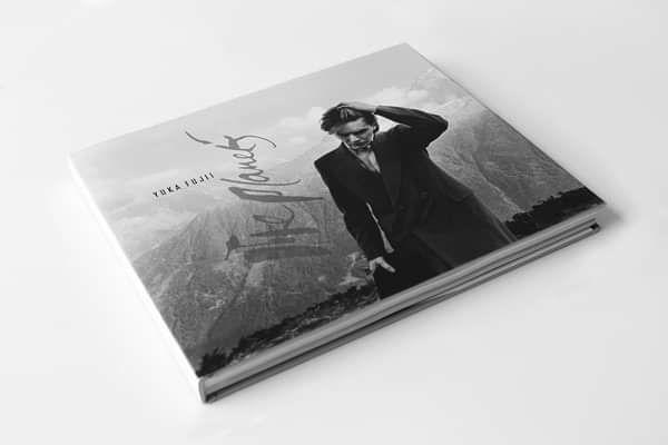 David Sylvian – Like Planets by Yuka Fujii – Hard Cover Book - David Sylvian