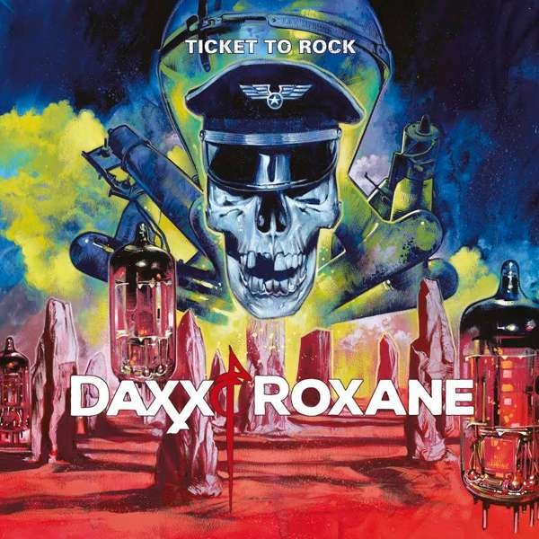 SIGNED Album - Ticket to Rock - Daxx & Roxane