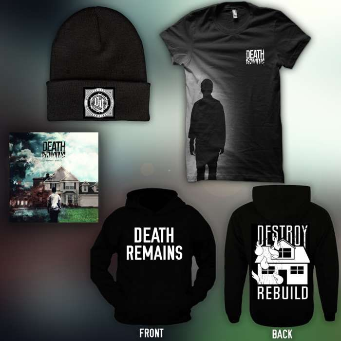 CD + T-shirt + Hoodie + Beanie Bundle - Death Remains