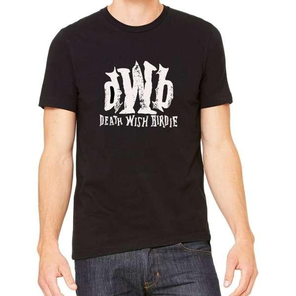 """DWB"" Black Tee - Death Wish Birdie"