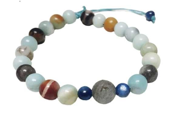 Amazonite Bracelet - Deva Premal & Miten USD