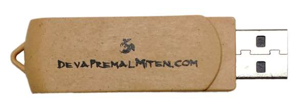 Deva Premal & Miten exclusive Flash drive - Deva Premal & Miten USD