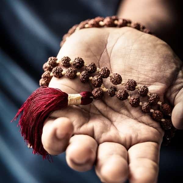 Rudraksha Mala - 108 beads - 7mm - Various Colours - Deva Premal & Miten GBP