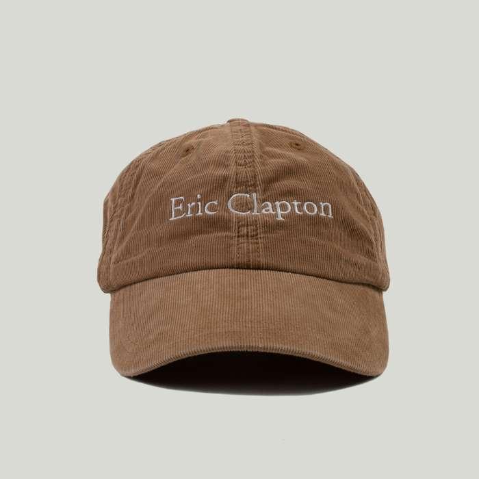 Brown Corduroy Eric Clapton Hat - Devendra Banhart