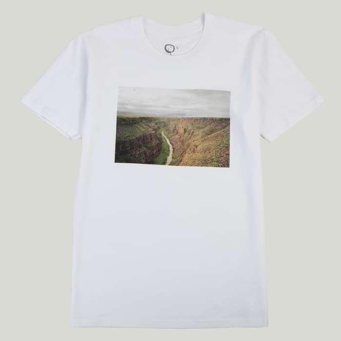 Landscape T Shirt Series: Rio Grande, New Mexico - Devendra Banhart