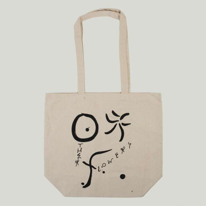Other Flowers Heavyweight Canvas Tote Bag - Devendra Banhart