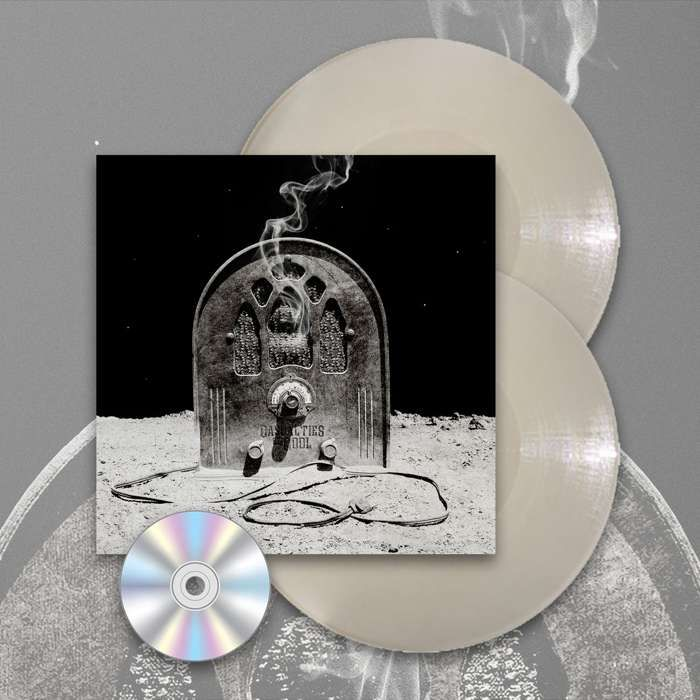 Casualties Of Cool - 'Casualties Of Cool' *EXCLUSIVE* Gatefold Transparent Milky White 2LP + CD - Devin Townsend