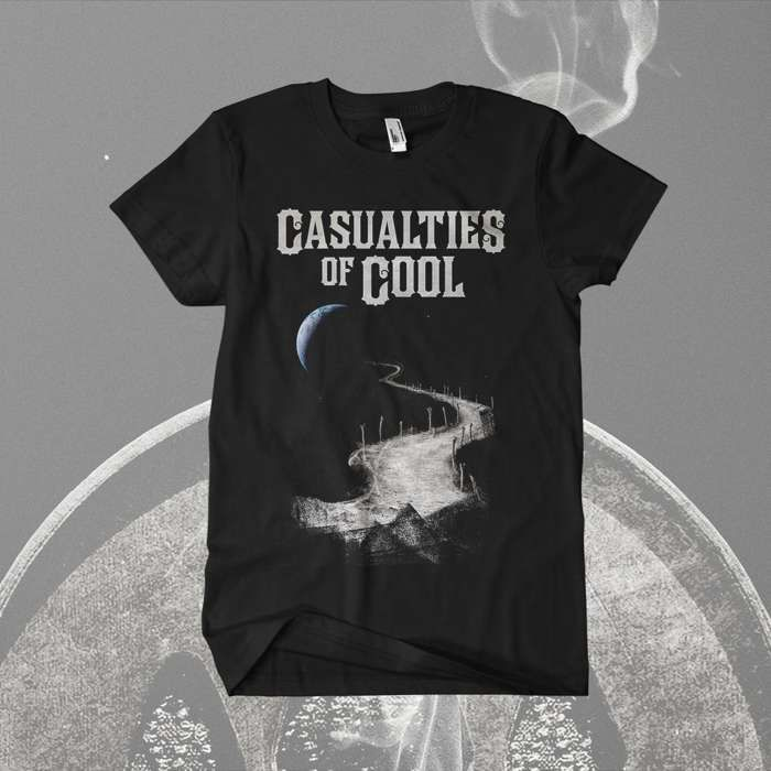 Casualties Of Cool - 'Moon' T-Shirt - Devin Townsend