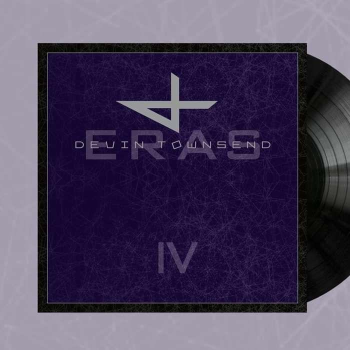 Devin Townsend - BLACK 9LP 'Eras - Vinyl Collection Part lV' - Devin Townsend
