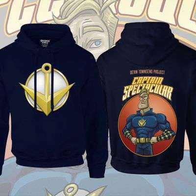 Devin Townsend - 'Captain Spectacular' Hoody - Devin Townsend