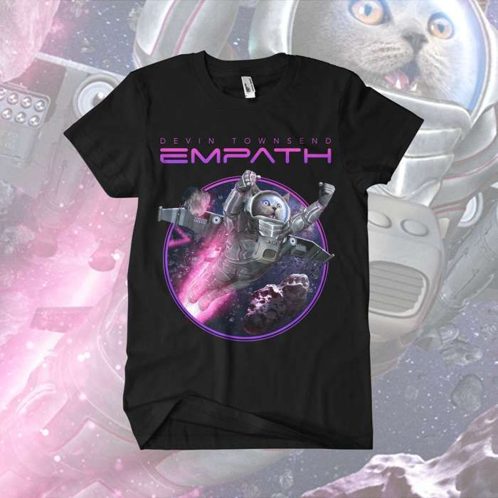 Devin Townsend - 'Cats In Space' T-Shirt - Devin Townsend