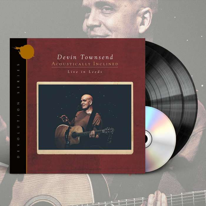 Devin Townsend - 'Devolution Series #1 - Acoustically Inclined, Live in Leeds' Ltd. Gatefold Black 2LP+CD - Devin Townsend