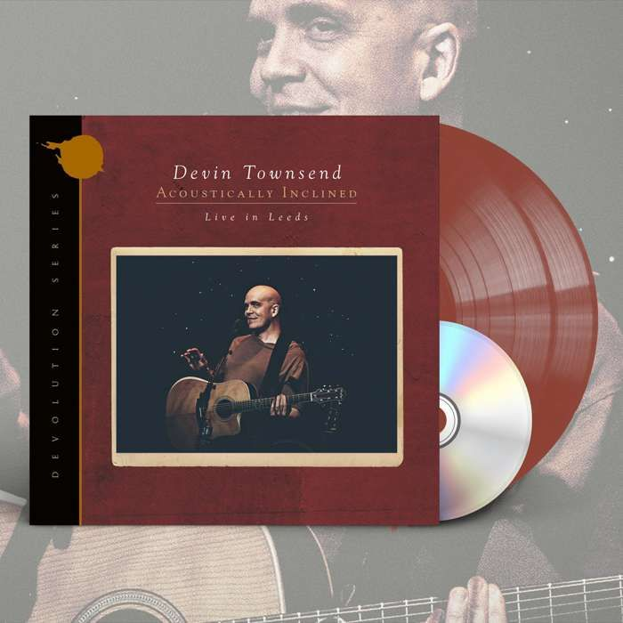 Devin Townsend - 'Devolution Series #1 - Acoustically Inclined, Live in Leeds' *EXCLUSIVE* Ltd. Gatefold Brick Red 2LP+CD - Devin Townsend