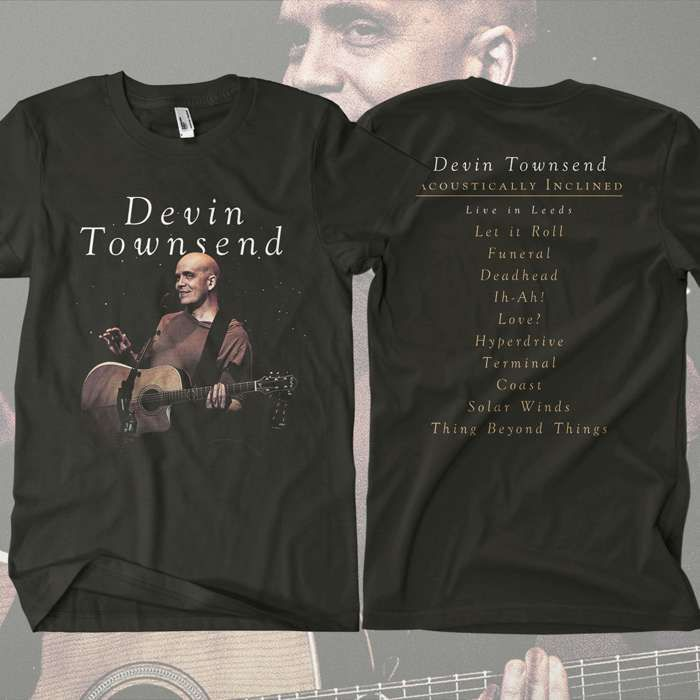 Devin Townsend - 'Devolution Series #1 - Acoustically Inclined, Live in Leeds' T-Shirt - Devin Townsend