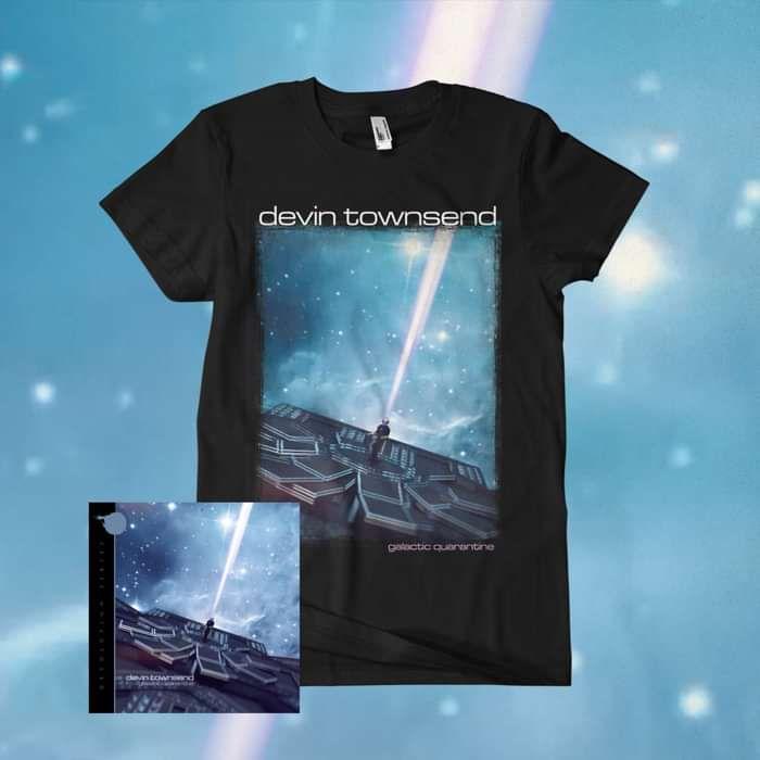 Devin Townsend - 'Devolution Series #2 - Galactic Quarantine' Ltd. CD+Blu-ray Digipak & T-Shirt Bundle - Devin Townsend