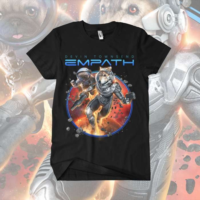 Devin Townsend - 'Dogs in Space' T-Shirt - Devin Townsend
