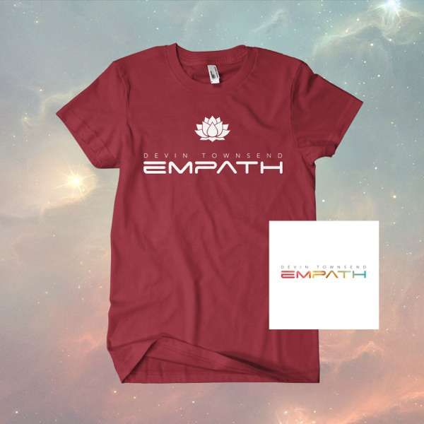 Devin Townsend -  Empath  Jewelcase CD   T-Shirt Bundle f5bba30939f4