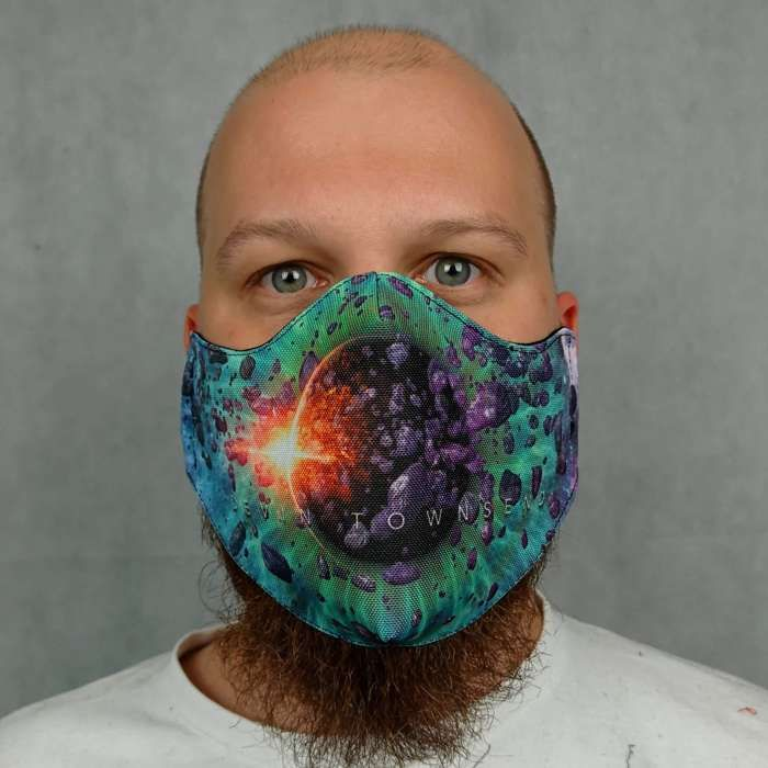 Devin Townsend - 'Genesis' Face Mask - Devin Townsend